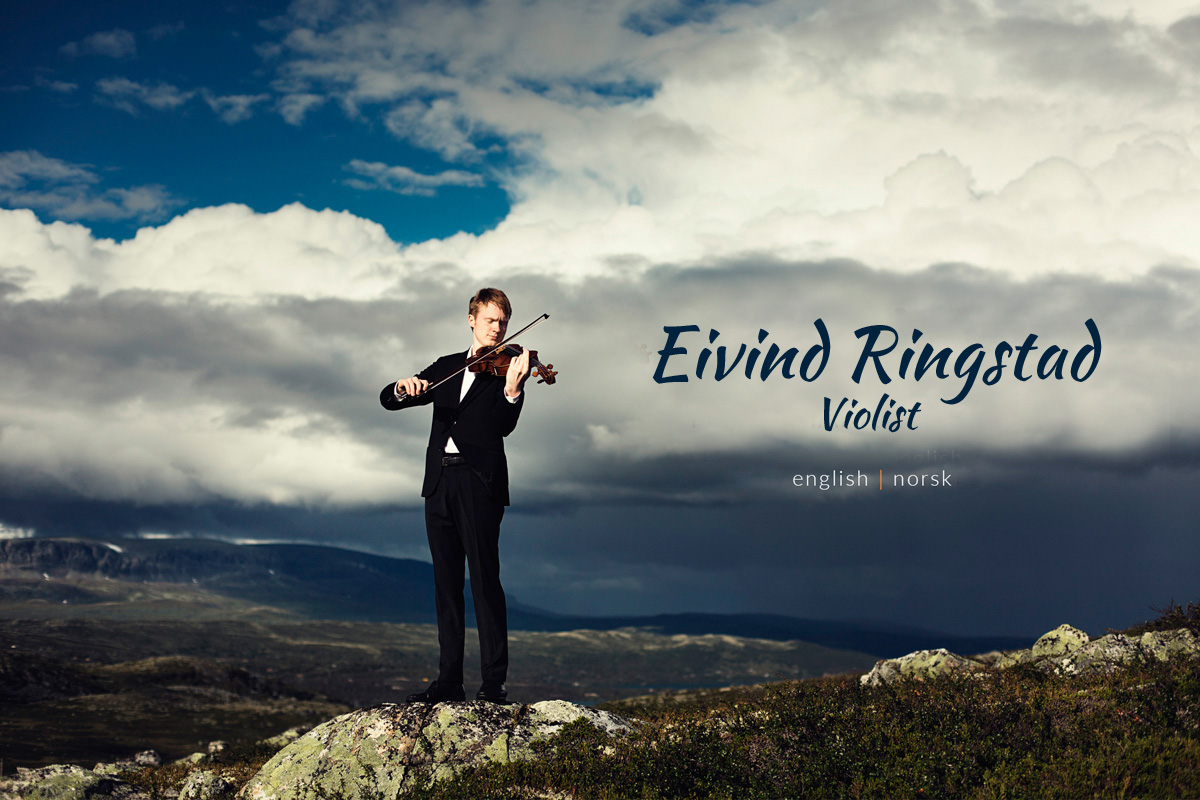 Eivind Ringstad website launch